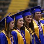 Sumrall High School held its commencement ceremony Saturday at Reed Green Coliseum