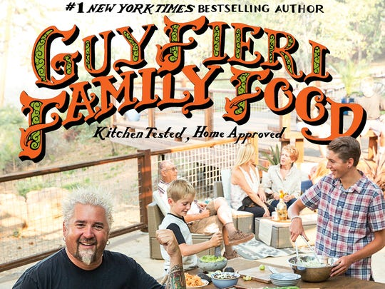Guy Fieri Family Food, the 6th cookbook from the Food