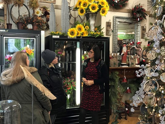 The Flower Lady is located in the Wauwatosa Village