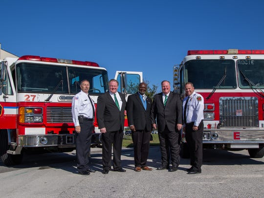 Fire engines donated to Eastern Florida State College