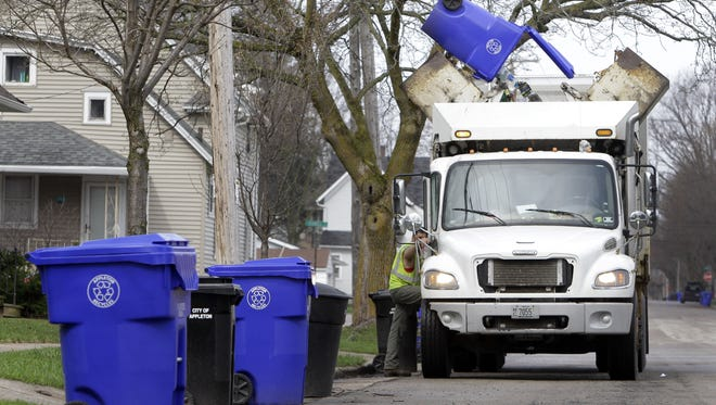Appleton households and businesses might face additional fees for garbage next year under a proposal before the Municipal Services Committee.