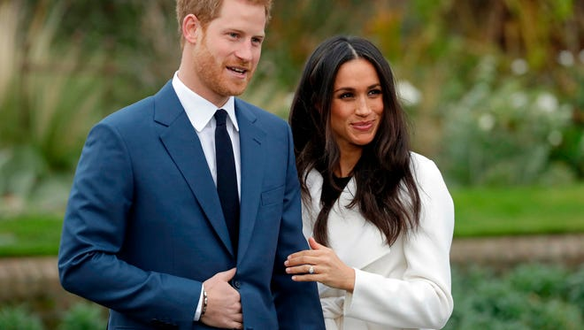 Prince Harry and Meghan Markle will wed on May 19 at Windsor Castle in England.