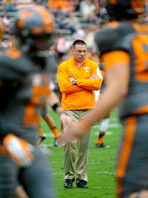 """Tennessee Coach Butch Jones hinted that it's going to take the Vols' best effort to be in the game late on Saturday against Alabama. """"We are going to have to play great, mistake-free football to get the game into the fourth quarter,"""" he said."""