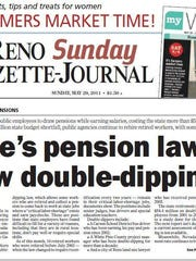 A 2011 RGJ investigation looked into the practice of public employees drawing a pension and being rehired to do the same job.
