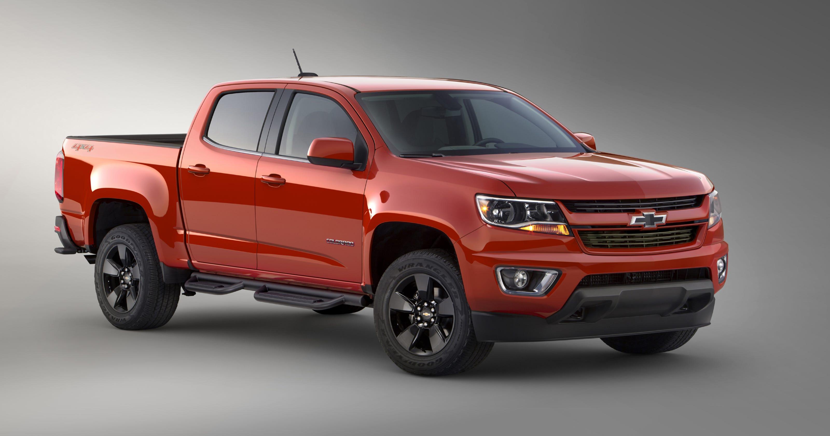 Chevy Special Edition Trucks >> Chevy Reveals Colorado Gearon Special Edition