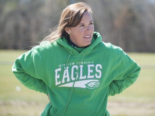 Winslow Township High School softball coach Candi Steinhauer.