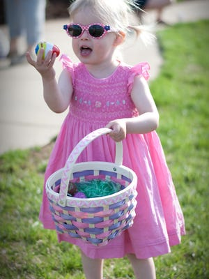 The City of Vineland's annual Easter Egg Hunt, for children ages 8 and younger, will be held at 11 a.m. April 8.