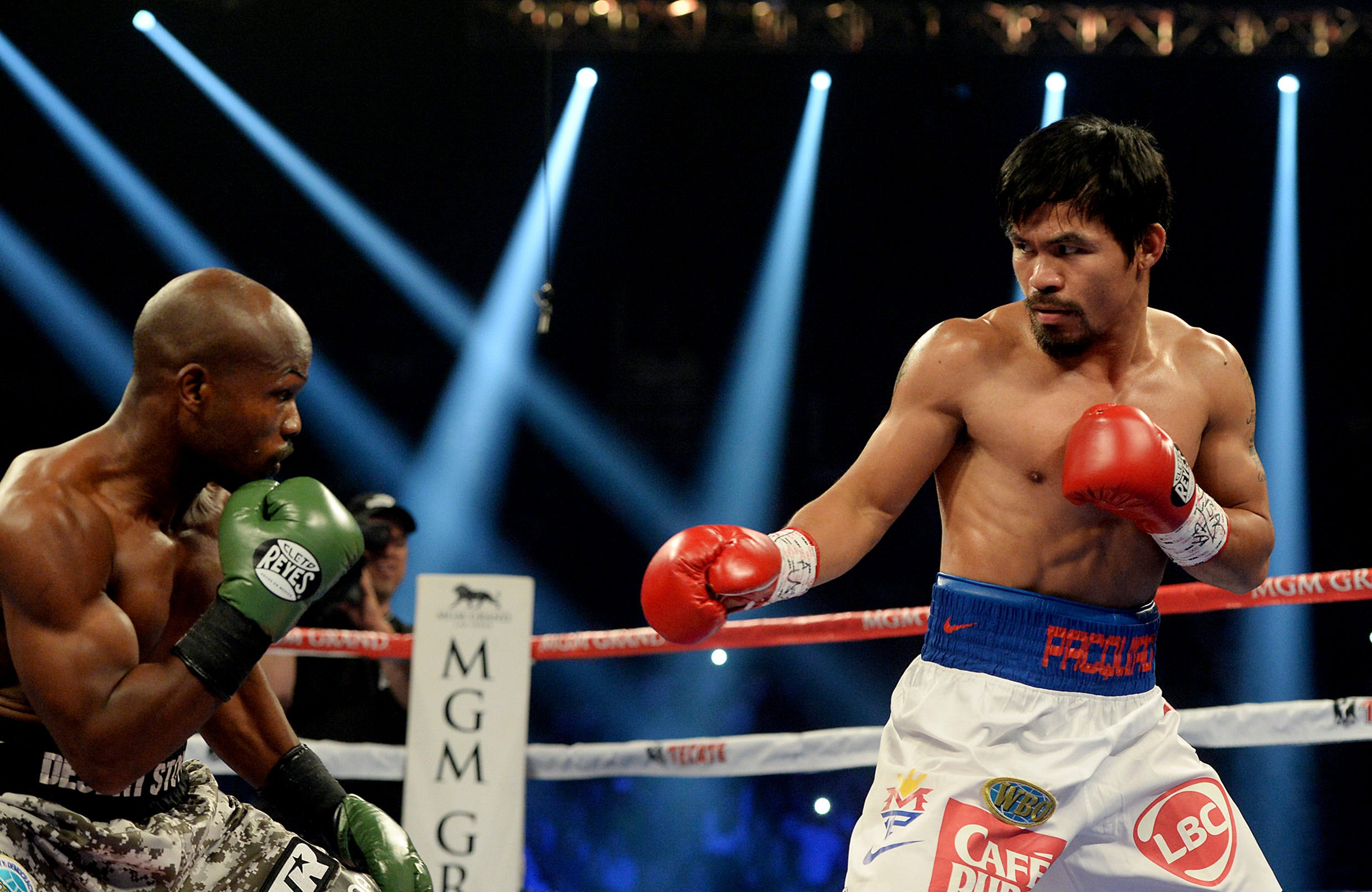 Manny PACQUIAO-Timothy Bradley II: Round by round