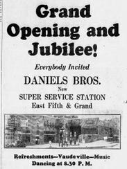 An advertisement in the Sept. 12, 1929 issue of the
