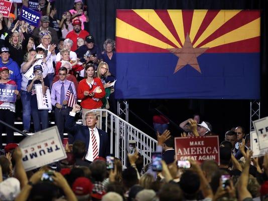 Donald Trump in Prescott Valley