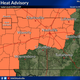Middle Tennessee heat advisory issued for Thursday, heat index could top 105 degrees
