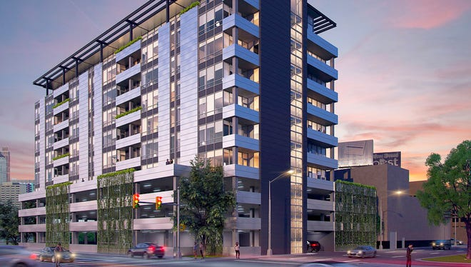 The Ashton Detroit is a proposed $35 million luxury condo building planned for the corner of Howard Street and Third in downtown Detroit. It would feature 78 condominiums in addition to five penthouses and a swimming pool.