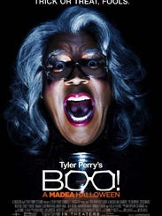 """The poster for """"Tyler Perry's Boo: A Madea Halloween."""""""