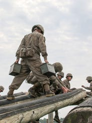 Charlie Company participates in resupply exercises