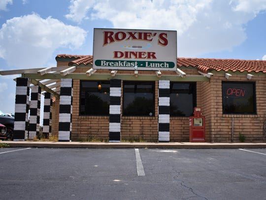 The outside of Roxie's Diner on July 16, 2018.