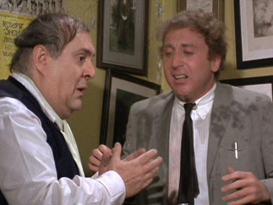 """Zero Mostel, left, and Gene Wilder star in """"The Producers"""""""