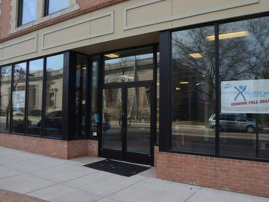 Community Healthcare Connections at its new location, 64 East Michigan Avenue in downtown Battle Creek.
