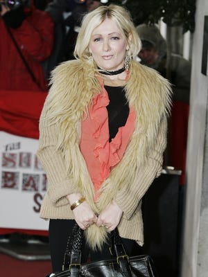 British sitcom actress and writer Caroline Aherne died of cancer Saturday.