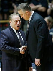 Purdue's Matt Painter and MSU's Tom Izzo are beginning to think about what could be next for college basketball, if players are able to seek endorsements.