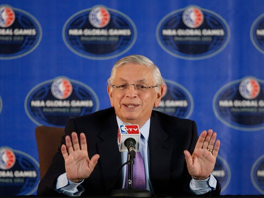 Hall of Fame Stern Basketball
