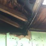 Lightning started fire at Port St. John home