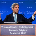 Kerry: US won't quit on peace in Syria
