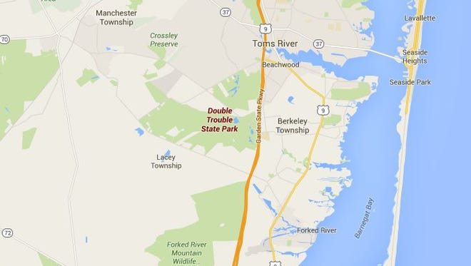 The body of a 28-year-old Long Branch man was found Thursday on the back trails of Double Trouble State Park in Berkeley Township.