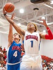 Indiana Senior All-Star Romeo Langford of New Albany