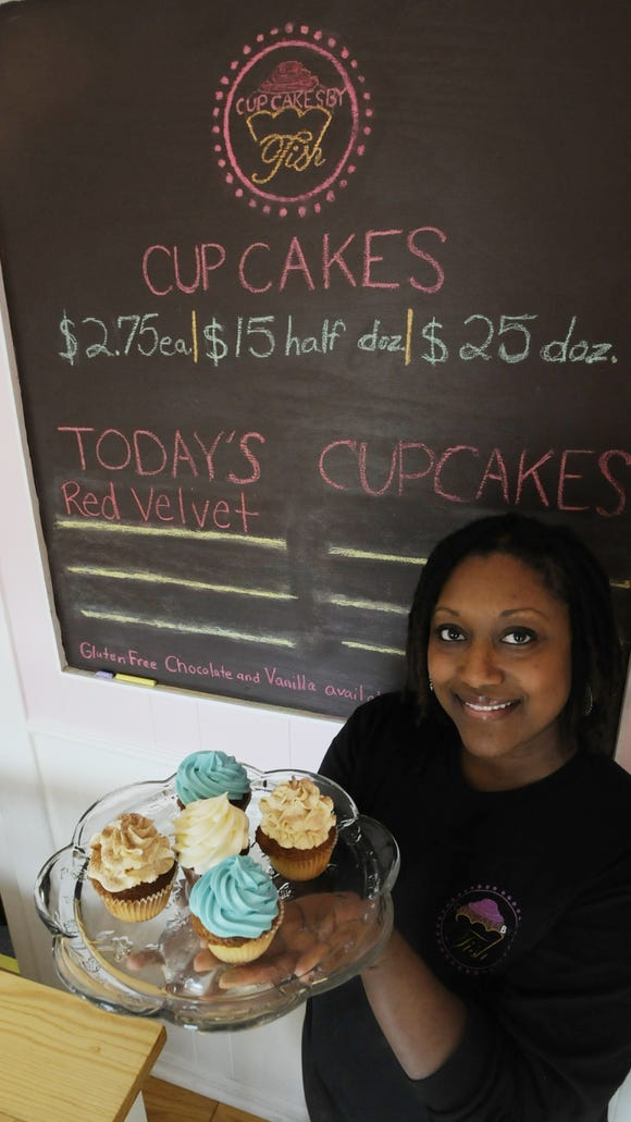 Tish Leonard started Cupcakes by Tish with her husband, Quincy, in 2011.