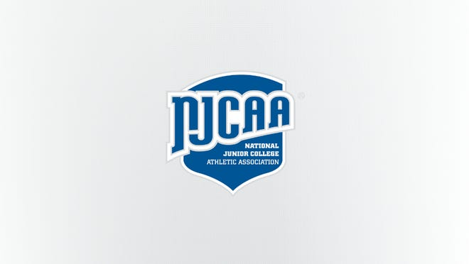 The NJCAA, the National Junior College Athletic Association logo.