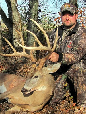 Mississippi has seen a dramatic increase in the number of truly giant racks like this 180-class taken by Andy Lloyd in 2011.