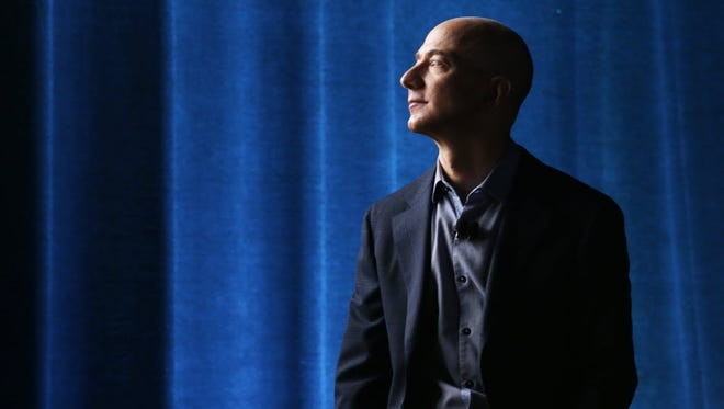 Amazon CEO Jeff Bezos in 2014.