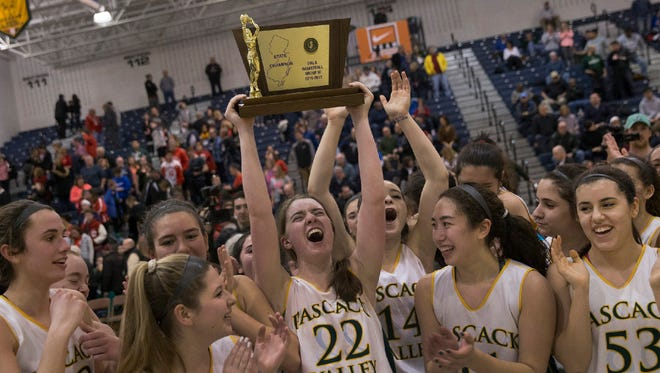 After winning the Group 3 championship, Pascack Valley is The Record Girls Basketball Team of the Year.