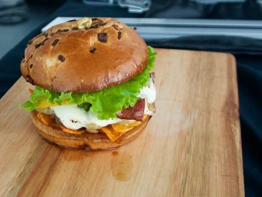 Ali's Notch-Yo_burger from Dearborn's Tastyee's Burgers