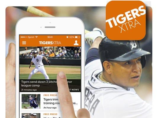 Tigers Xtra app