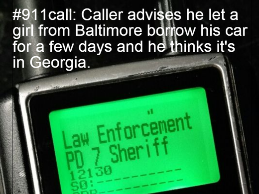 Updated: Odd calls I hear on the police scanner, 911 calls