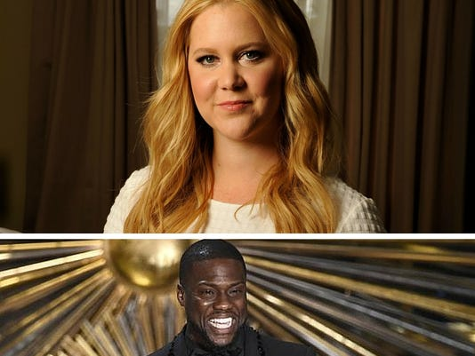 Amy Schumer and Kevin Hart