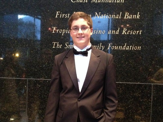 Westfield High School senior, Dale Beyert, has been