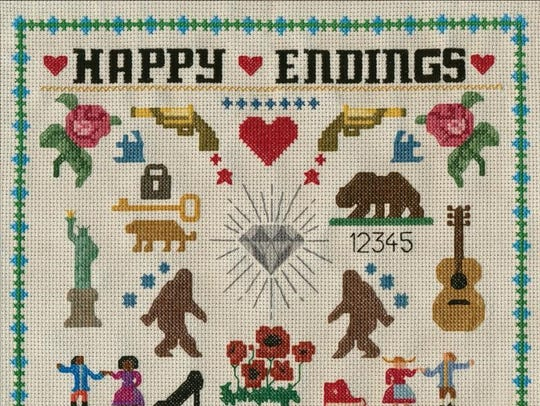 "Old Dominion's second album, ""Happy Endings"" debuted"