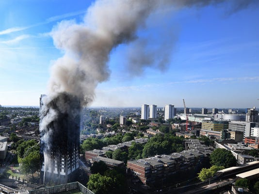 EPA (FILE) BRITAIN GRENFELL FIRE DIS FIRE GBR