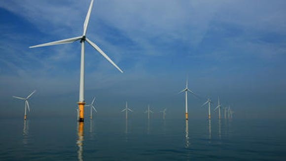 R.I. offshore wind project gets turbine supplier.