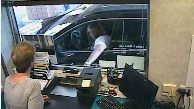 State police are trying to identify a woman they said tried to cash a stolen check at M&T Bank in Cortlandt on Aug. 29, 2016.