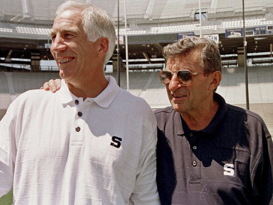 Joe Paterno,Jerry Sandusky