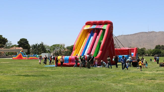 "The Old Fort Bliss Replica will host Just Because Day on May 14. It will feature ""extreme"" inflatables and other fun activities."