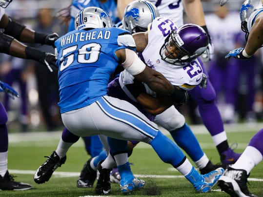Joique Bell, Tahir Whitehead