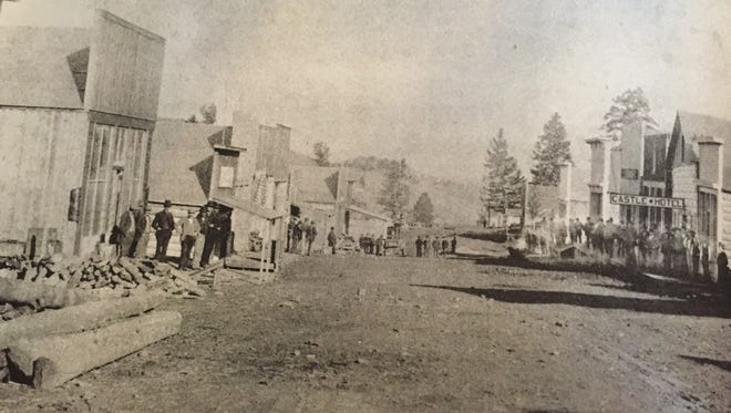 Castle Town, incorporated in 1891, reached a peak population of 2,000 people working the mines and mining the miners.