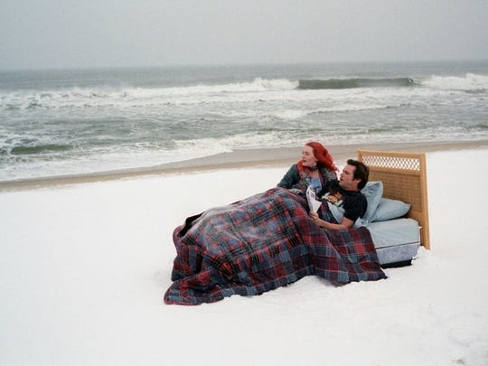 """Kate Winslet and Jim Carrey starred in the film """"Eternal Sunshine of the Spotless Mind."""""""
