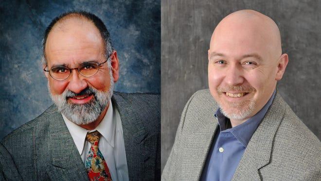 Mike Bitondo, left, and Jason Negri, were Republican candidates for Hamburg Treasurer.