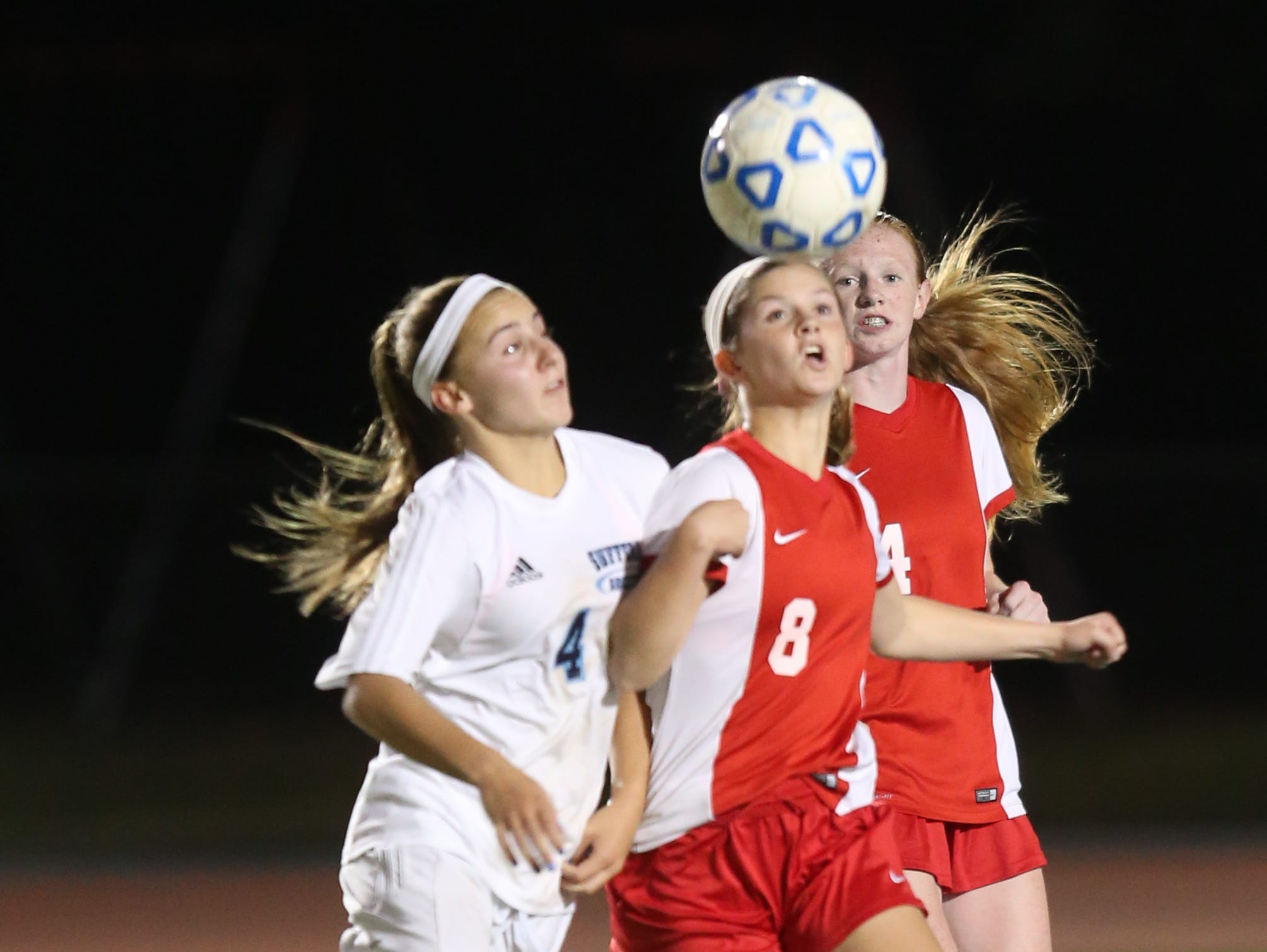 North Rockland plays Suffern in girls soccer at Suffern Middle School on Oct. 5, 2016.