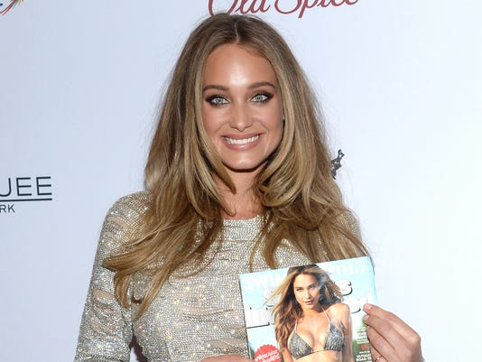 18ec18f92f Hannah Davis attends Sports Illustrated's Swimsuit Issue 2015 Celebration  at Marquee on Tuesday, Feb. 10, 2015, In New York. (Photo: Evan Agostini/AP  Photo)